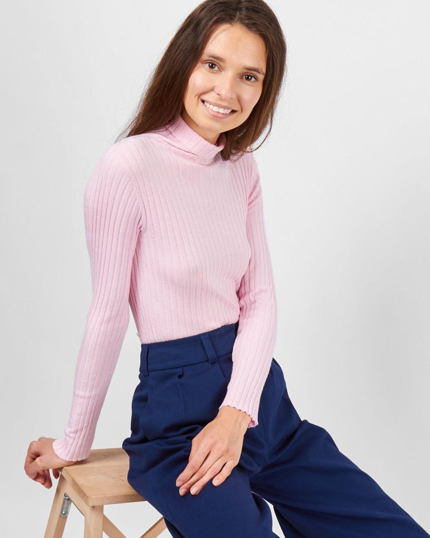 Водолазка One sizeтрикотаж<br><br><br>Артикул: 8446649<br>Размер: One size<br>Цвет: Розовый<br>Новинка: НЕТ<br>Наименование en: Turtleneck sweater