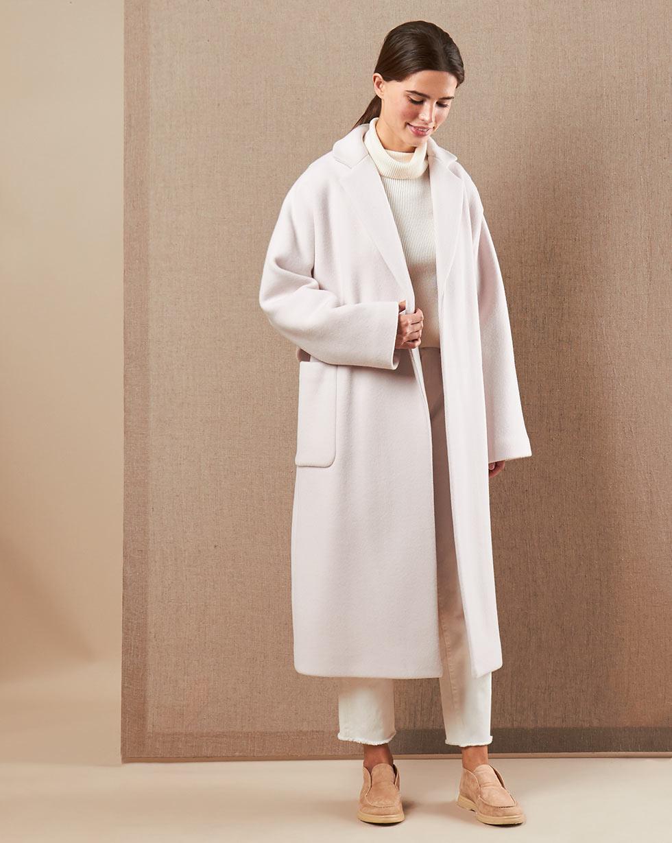 12Storeez Пальто V15-004 (Кремовый)