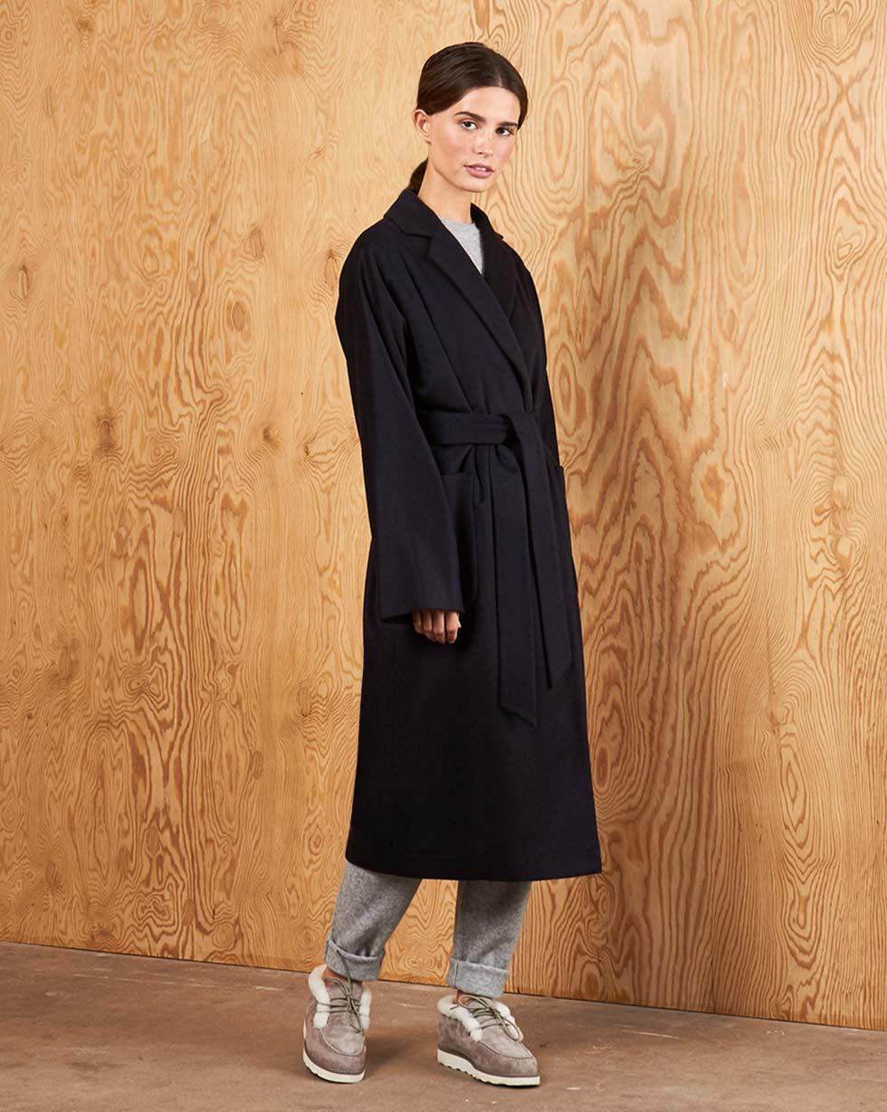 12Storeez Пальто V15-004 (Темно-синий) 12storeez пальто стеганое из шерсти темно серое
