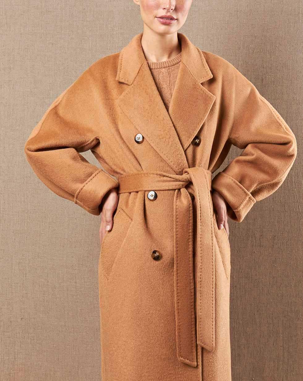 12Storeez Пальто V15-015 (Кэмел)