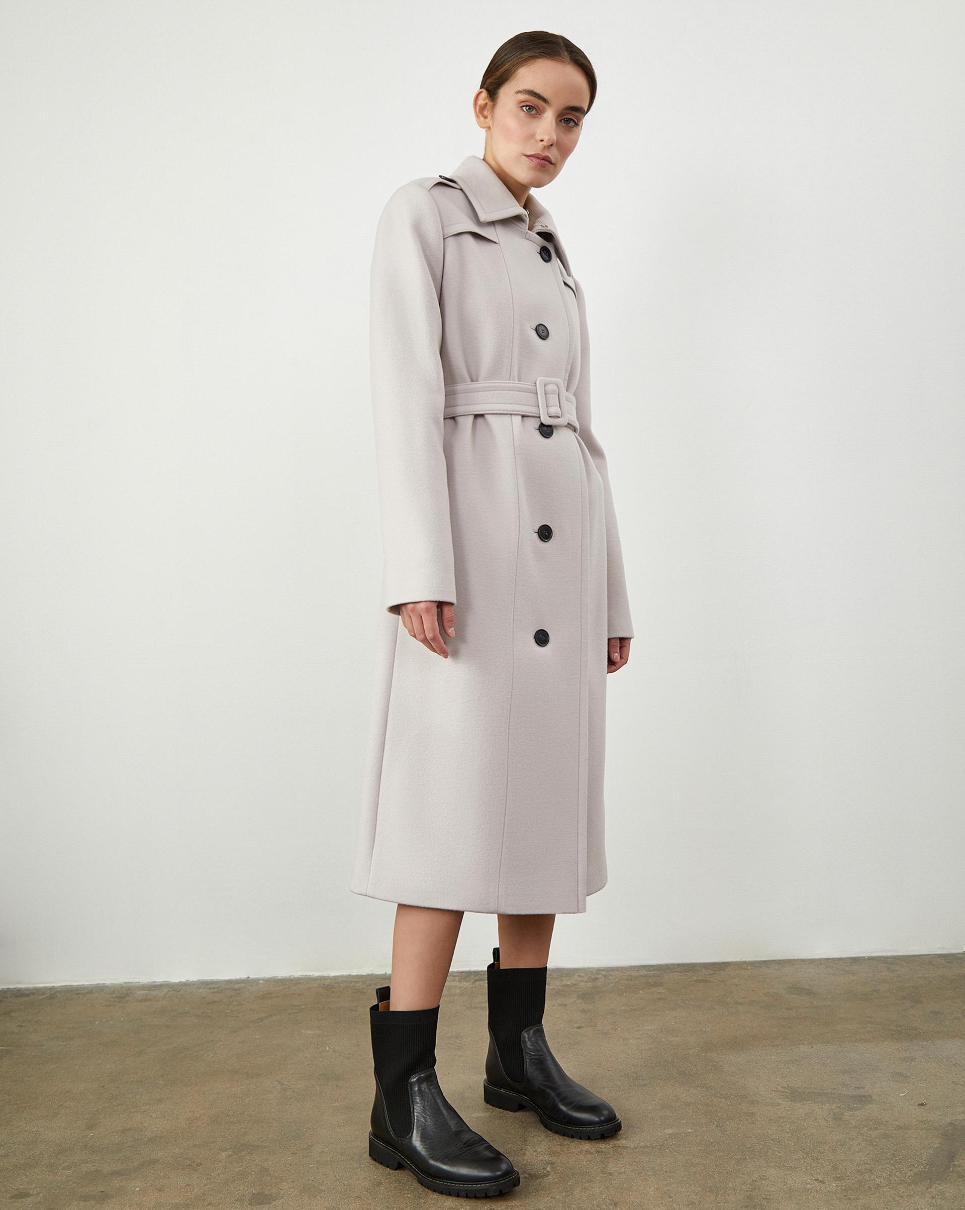 Пальто-тренч S фото