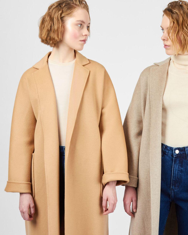 12Storeez Пальто-халат (кэмел) халаты домашние лори халат