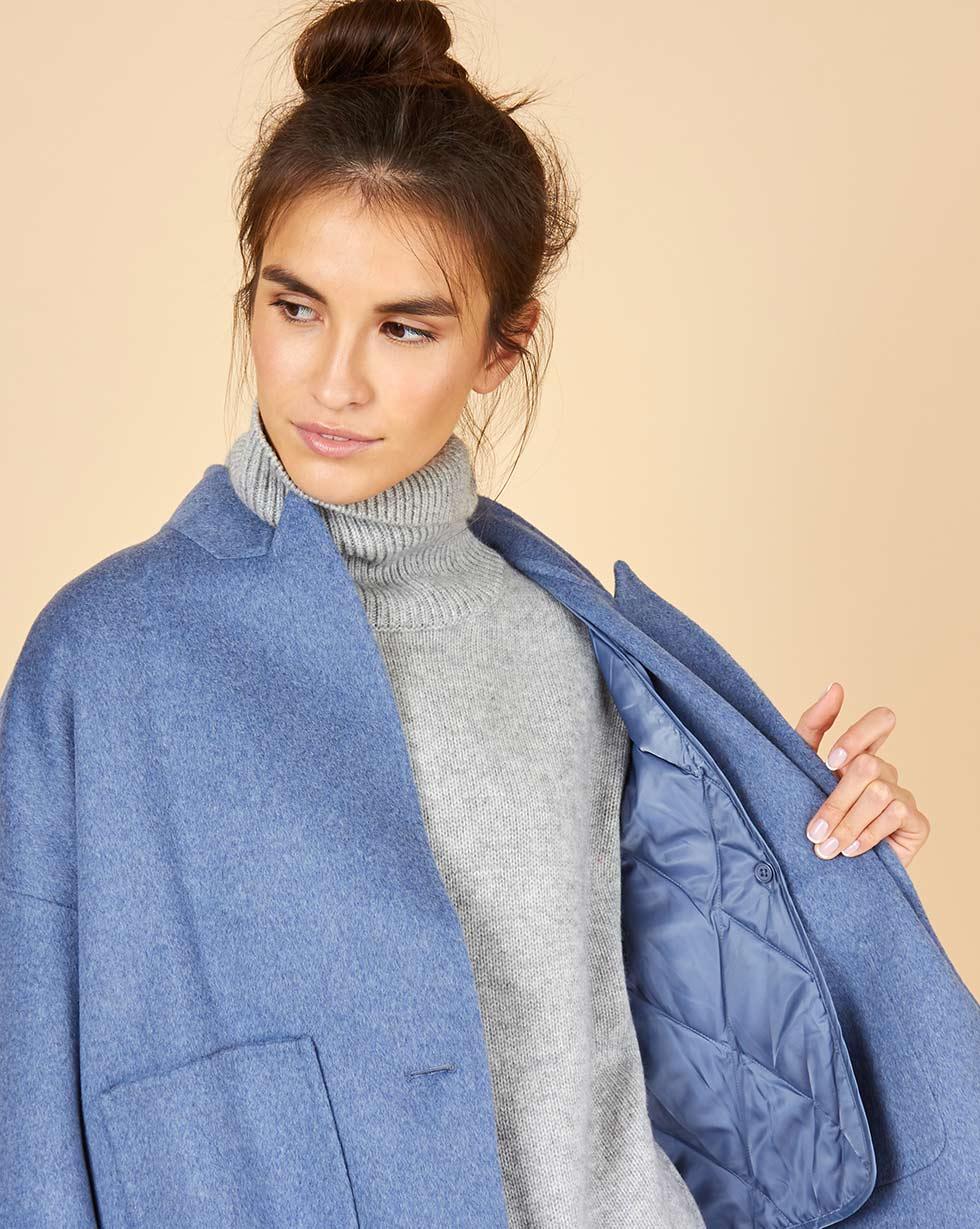 Пальто-жакет в интернет-магазине — 12Storeez a2e1c1b5f03