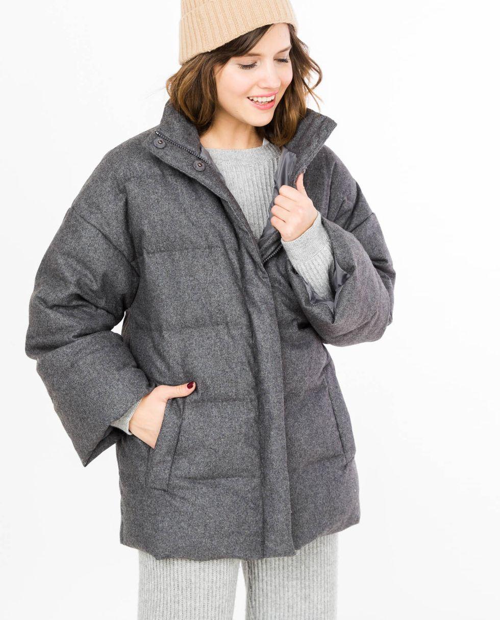 Жакет стеганый из шерсти One sizeВерхняя одежда<br><br><br>Артикул: 7997236<br>Размер: One size<br>Цвет: Темно-серый<br>Новинка: НЕТ<br>Наименование en: Quilted wool jacket