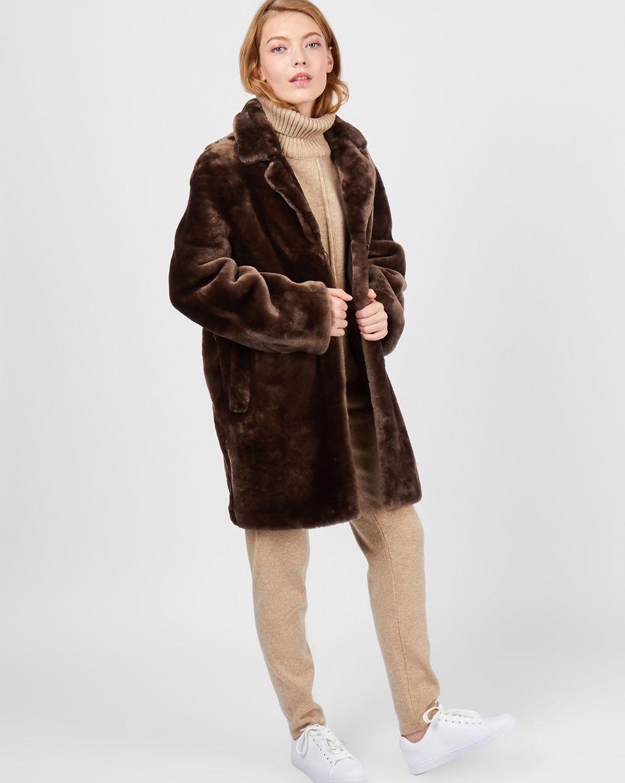 Шуба укороченная из мутона MВерхняя одежда<br><br><br>Артикул: 7997550<br>Размер: M<br>Цвет: Коричневый<br>Новинка: НЕТ<br>Наименование en: Mouton coat