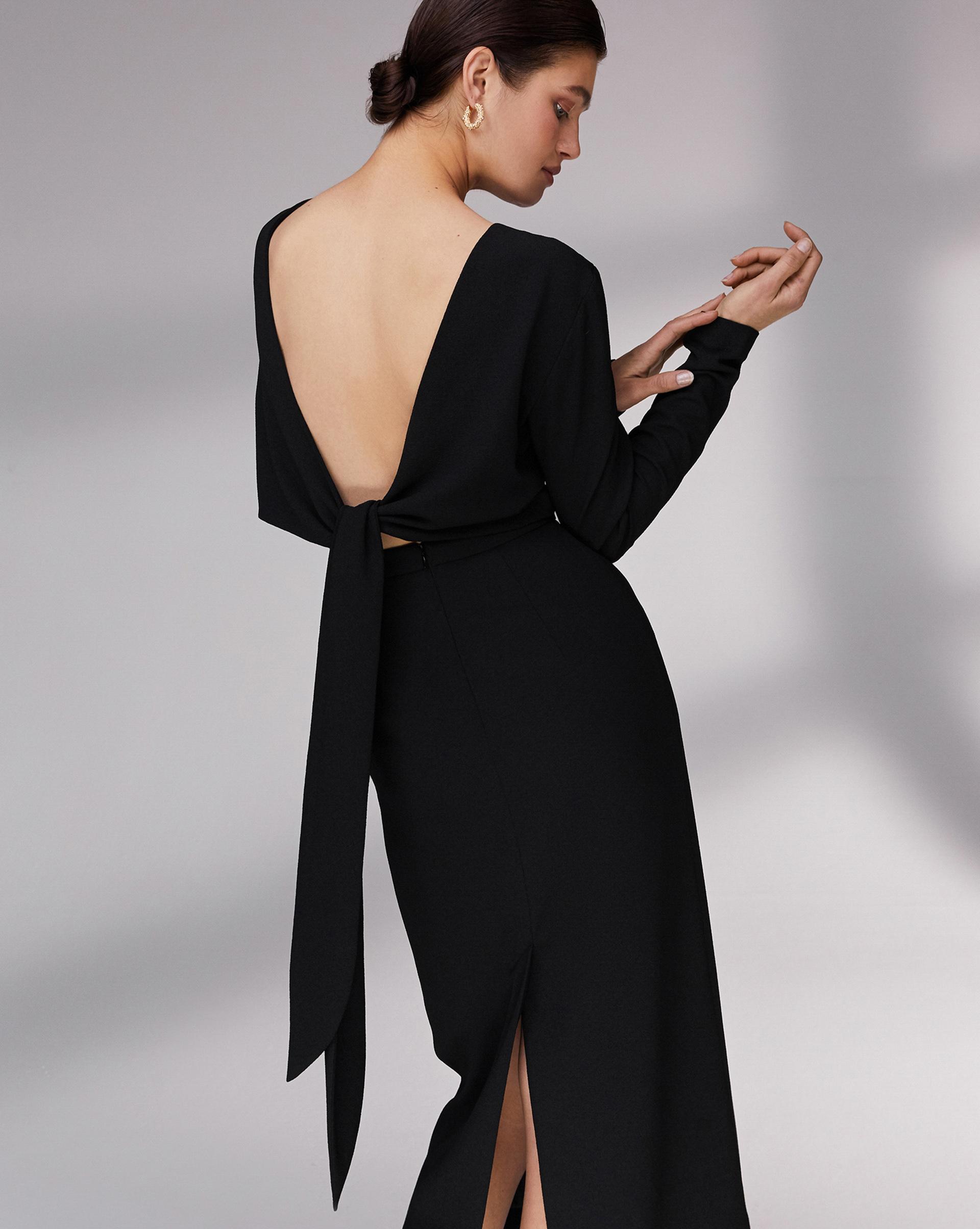 12⠀STOREEZ Платье с лентами на спине