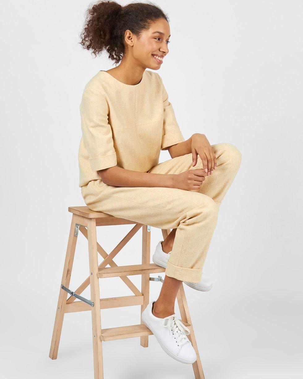 Купить со скидкой Комплект: топ с коротким рукавом и брюки S