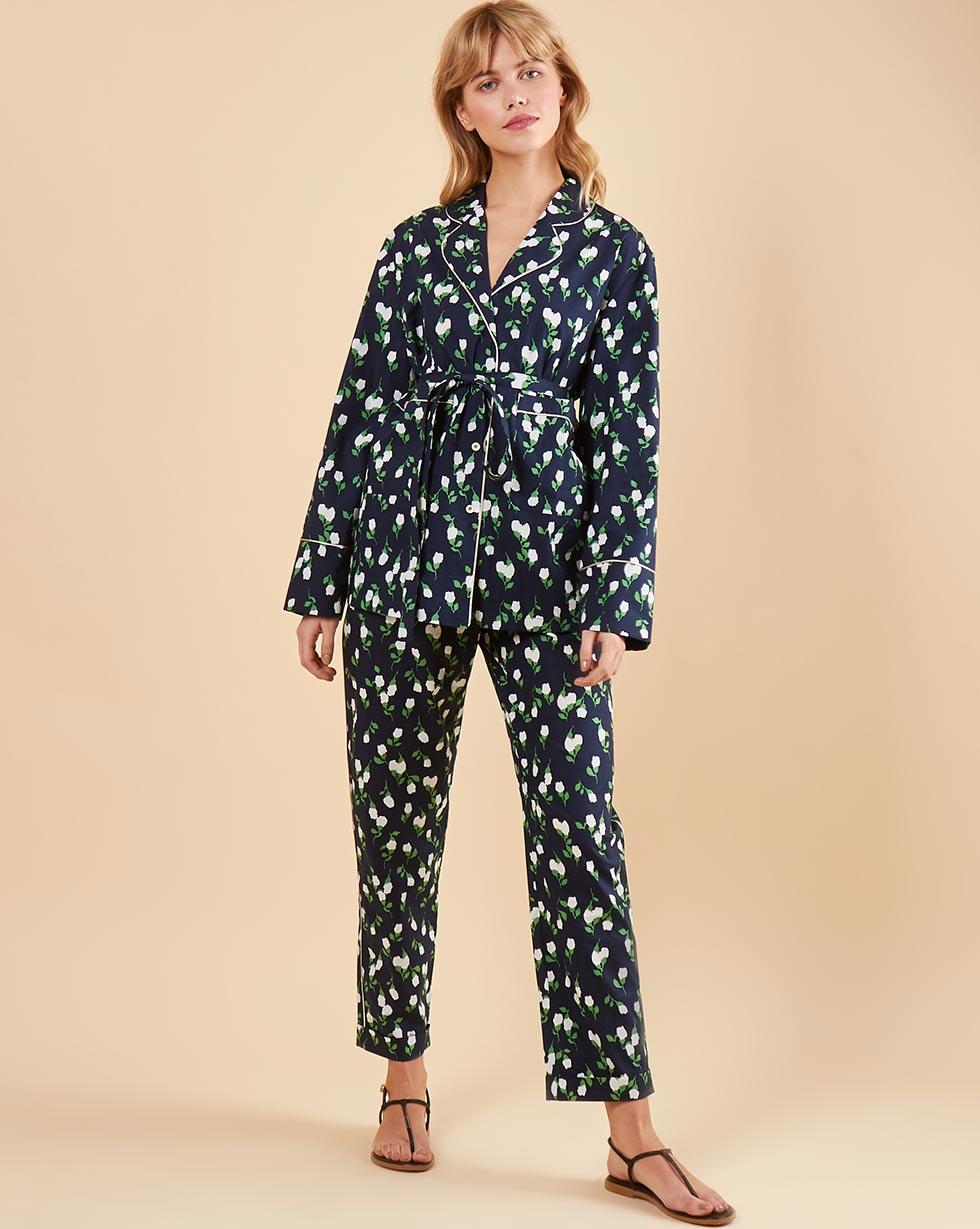 12Storeez Комплект: Рубашка с брюками (темно-синий) 12storeez комплект рубашка с брюками в полоску синий