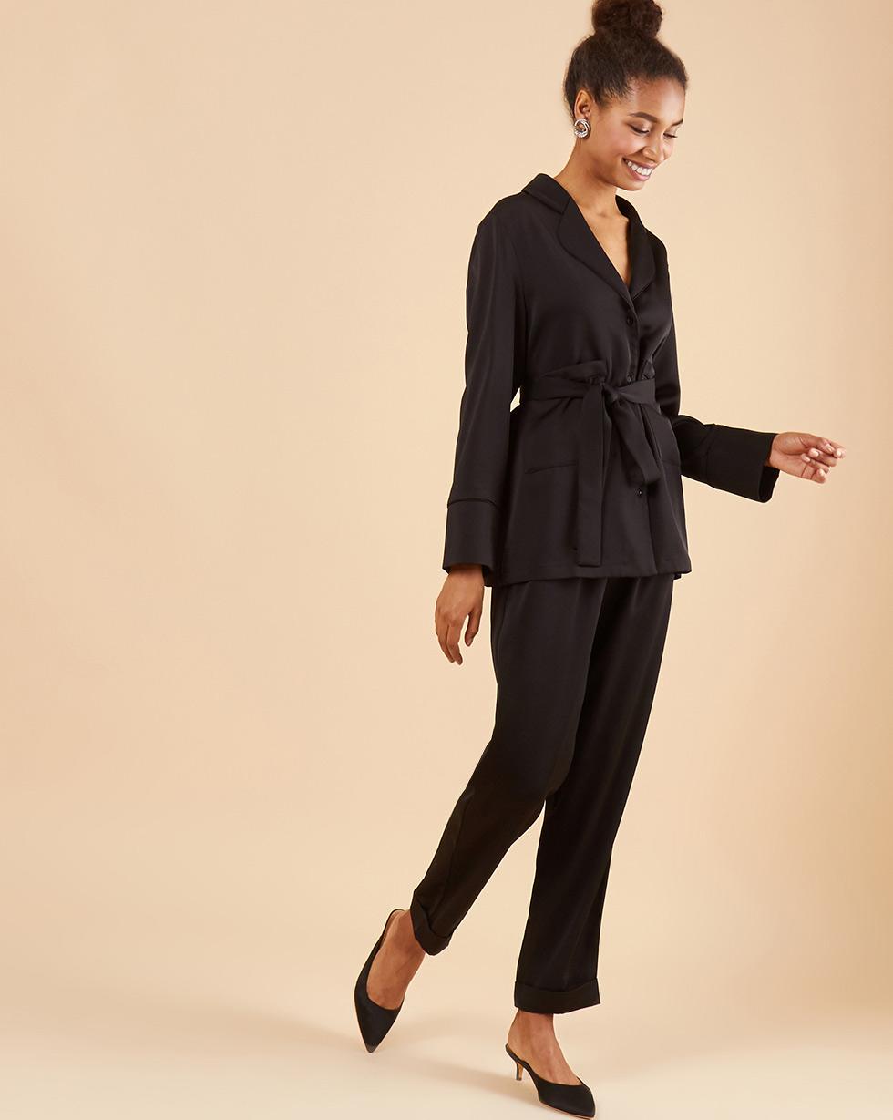 12Storeez Комплект: Рубашка с брюками (черный) 12storeez комплект рубашка с брюками в полоску синий
