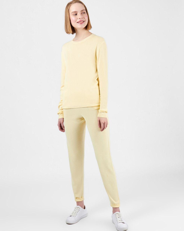 12Storeez Костюм: джемпер и брюки с карманами (жёлтый) 12storeez костюм джемпер и брюки с карманами сиреневый