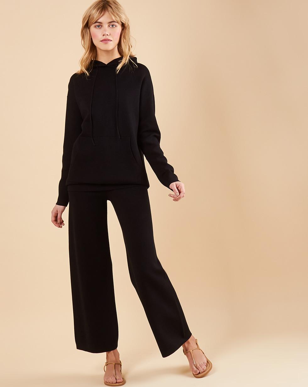12Storeez Костюм: худи и брюки (черный) SS19