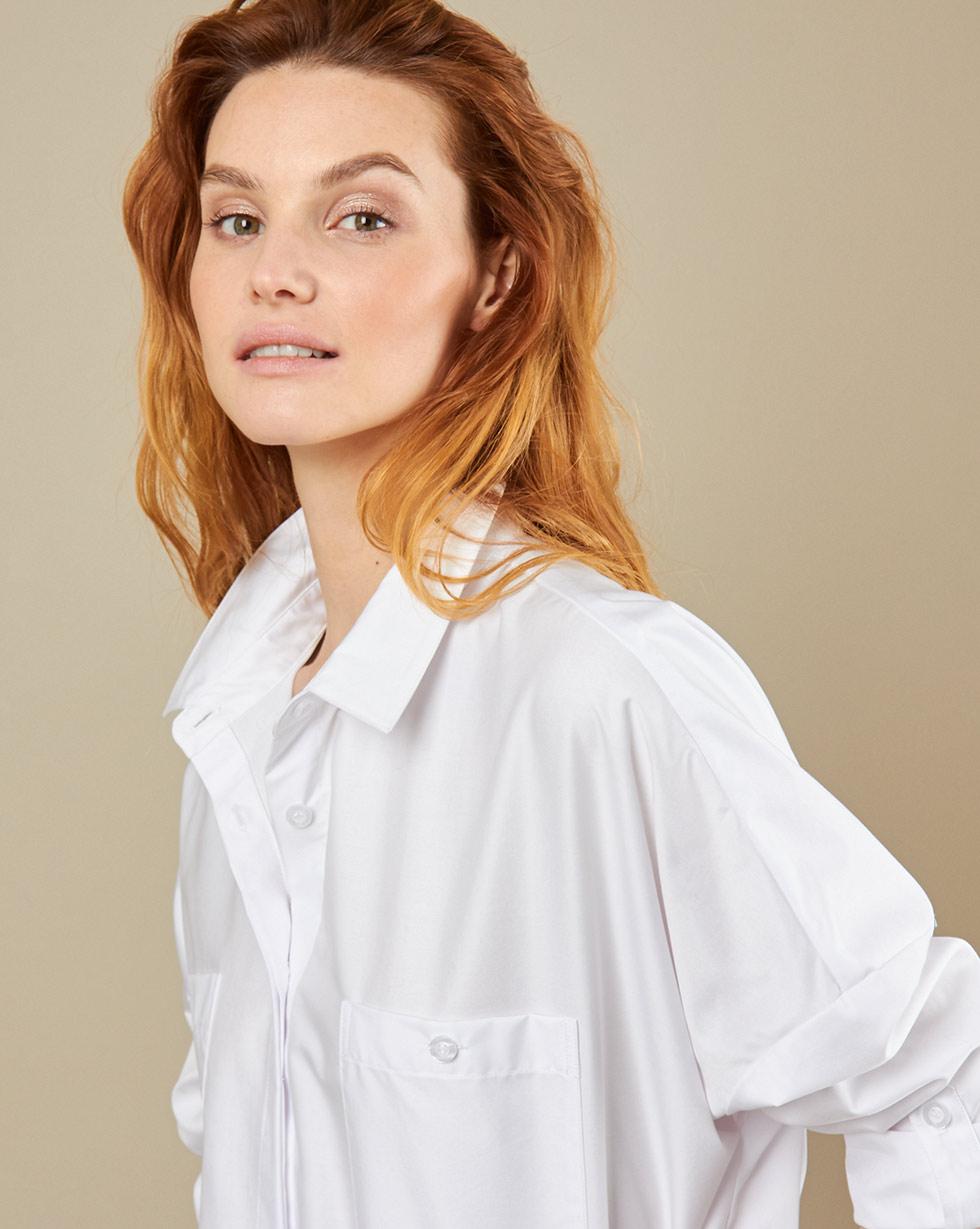 12Storeez Рубашка с карманами (белый)