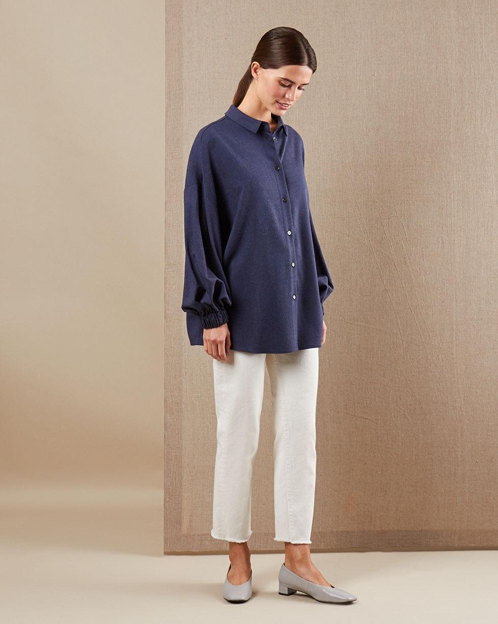 12Storeez Рубашка BL65-021 (Синий)