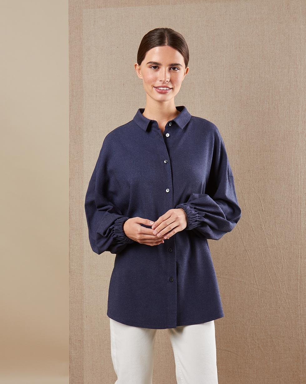 12Storeez Рубашка BL65-021 (Синий) 12storeez рубашка bl65 021 серый1