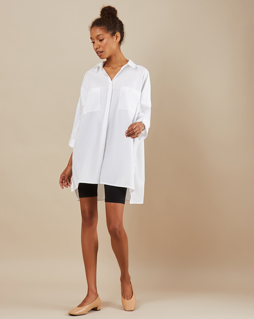12Storeez Рубашка BL65-023 (Белый)