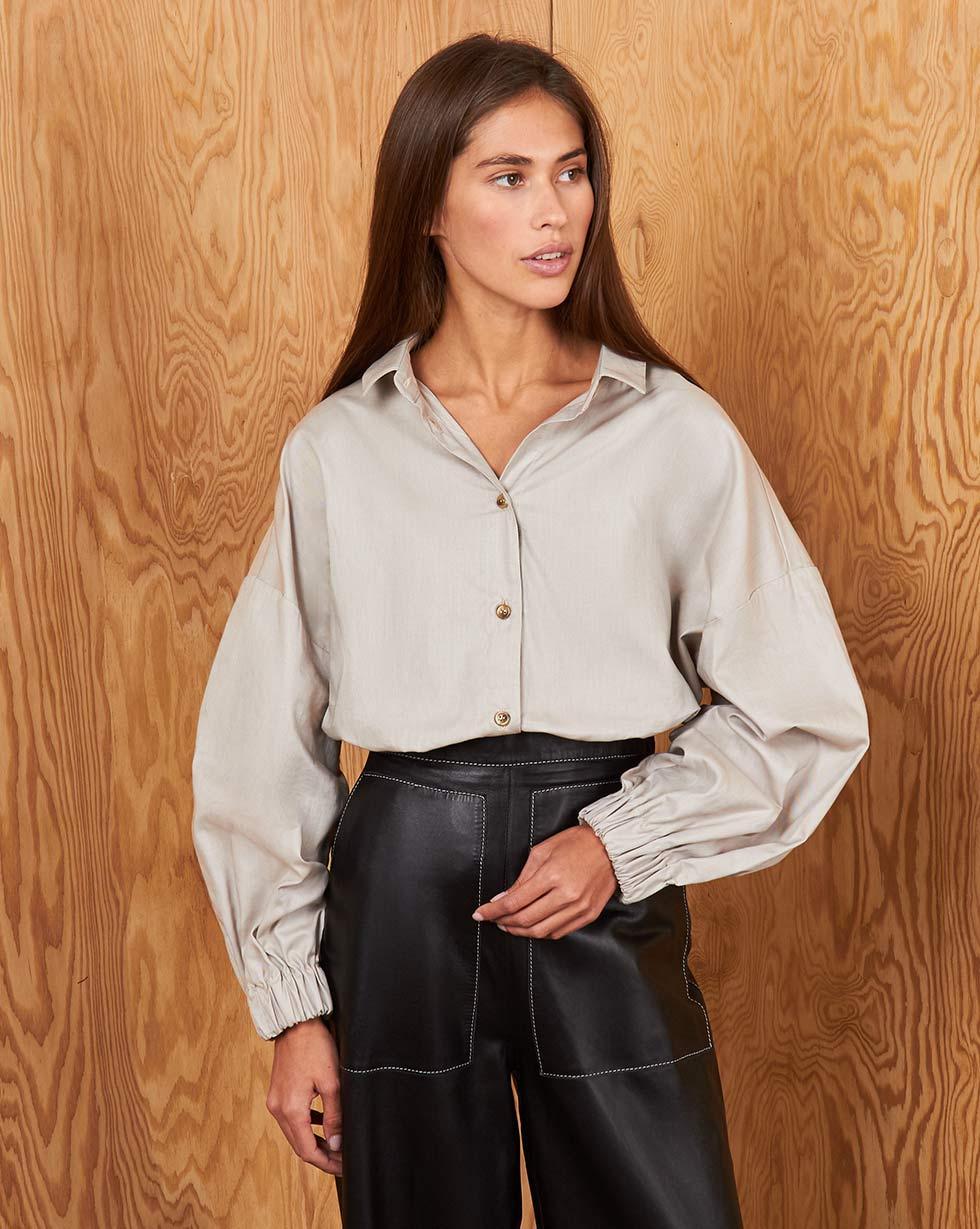 12Storeez Рубашка BL65-021 (Бежевый) 12storeez рубашка bl65 021 серый1