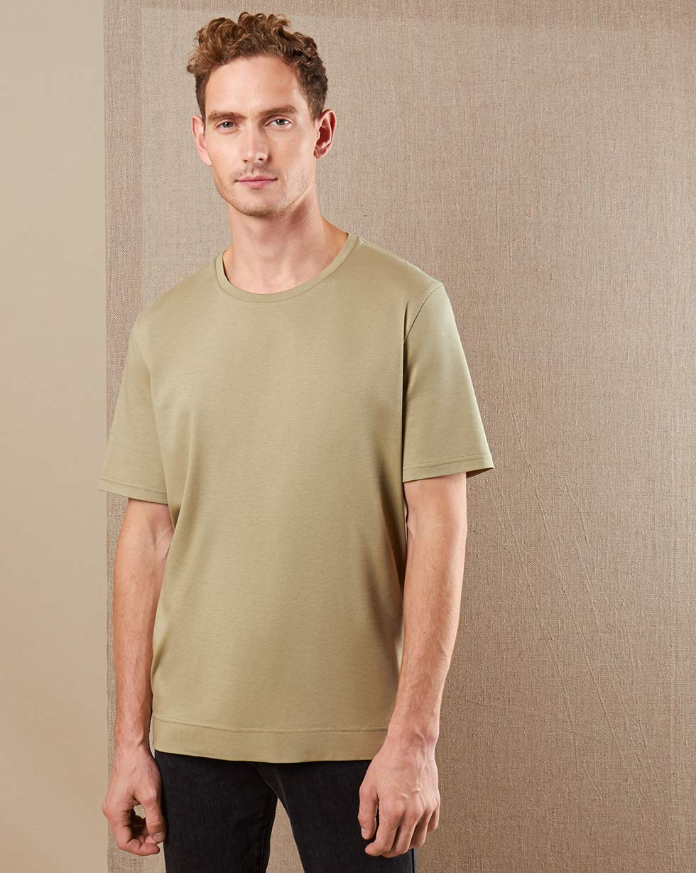 12Storeez Футболка TS89-032 (хаки) футболка хаки с чем носить