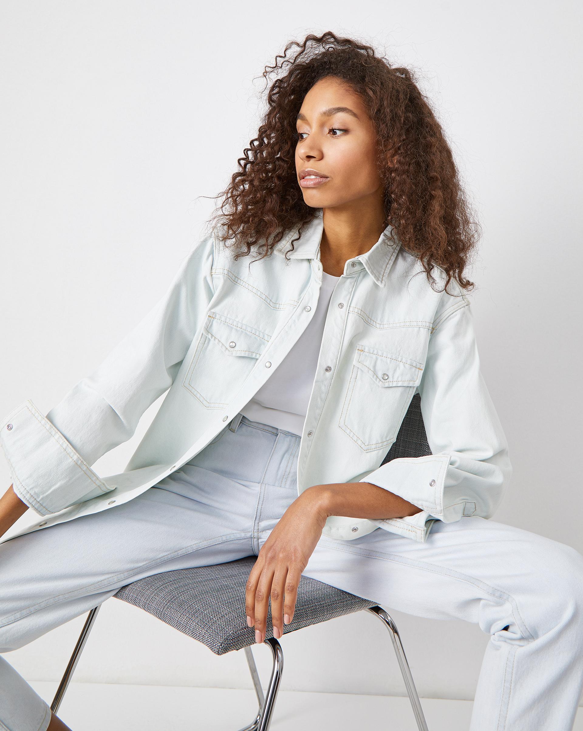 Фото - 12⠀STOREEZ Джинсовая рубашка pierre darré джинсовая рубашка