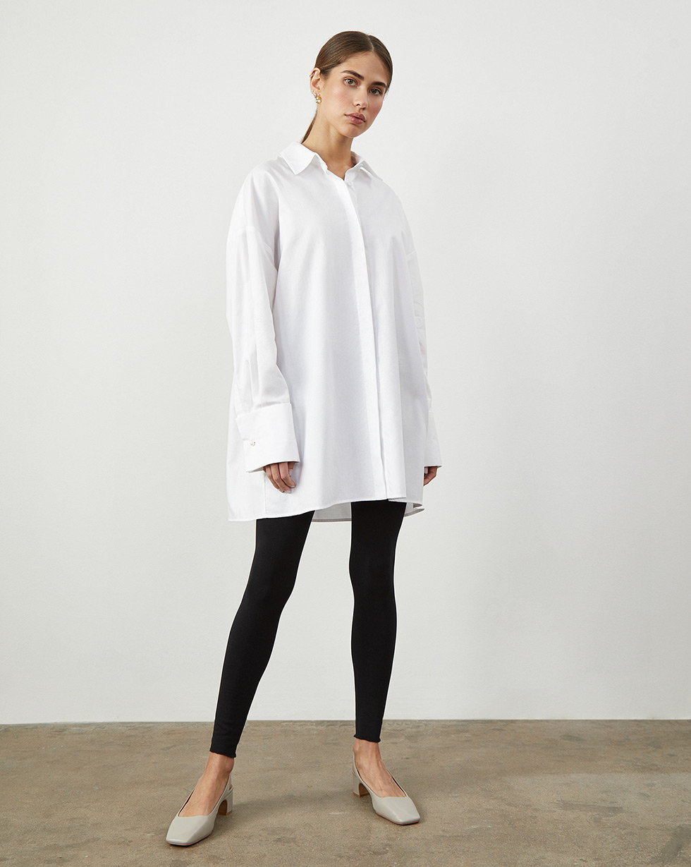 12Storeez Рубашка объемная с широкими манжетами 12storeez рубашка объемная светло серый