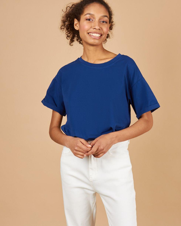12Storeez Футболка в мужском стиле (индиго) 12storeez футболка в мужском стиле темно синий