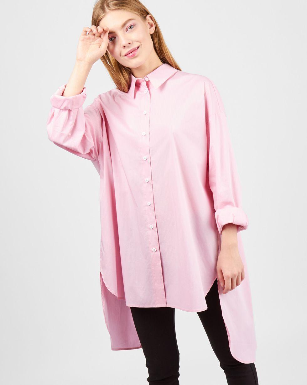 12Storeez Рубашка с открытой спиной (розовый)