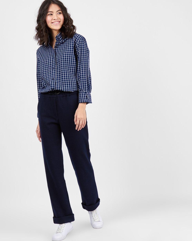 12Storeez Рубашка в мужском стиле (синий) blog