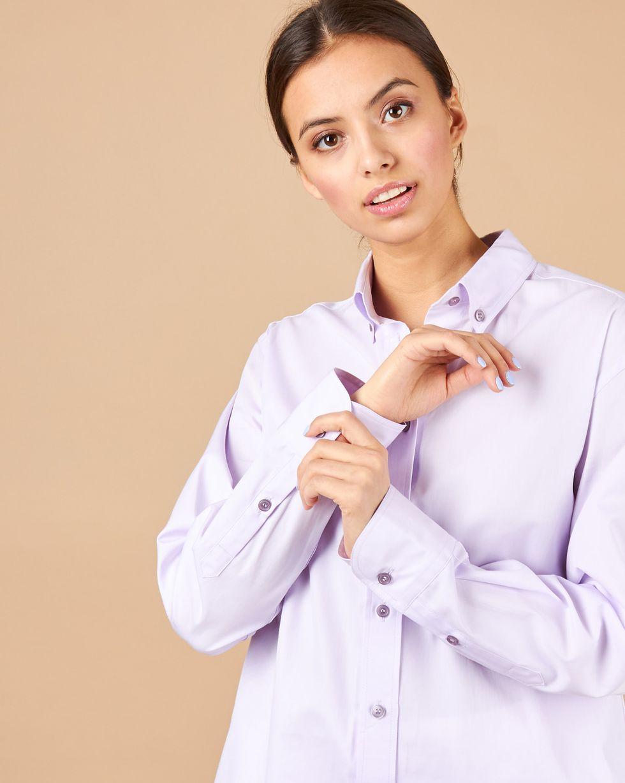 12Storeez Рубашка мужского покроя (сиреневый)