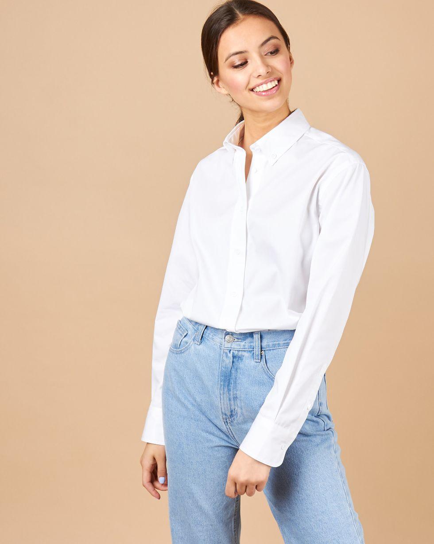 12Storeez Рубашка в мужском стиле (белый) blog