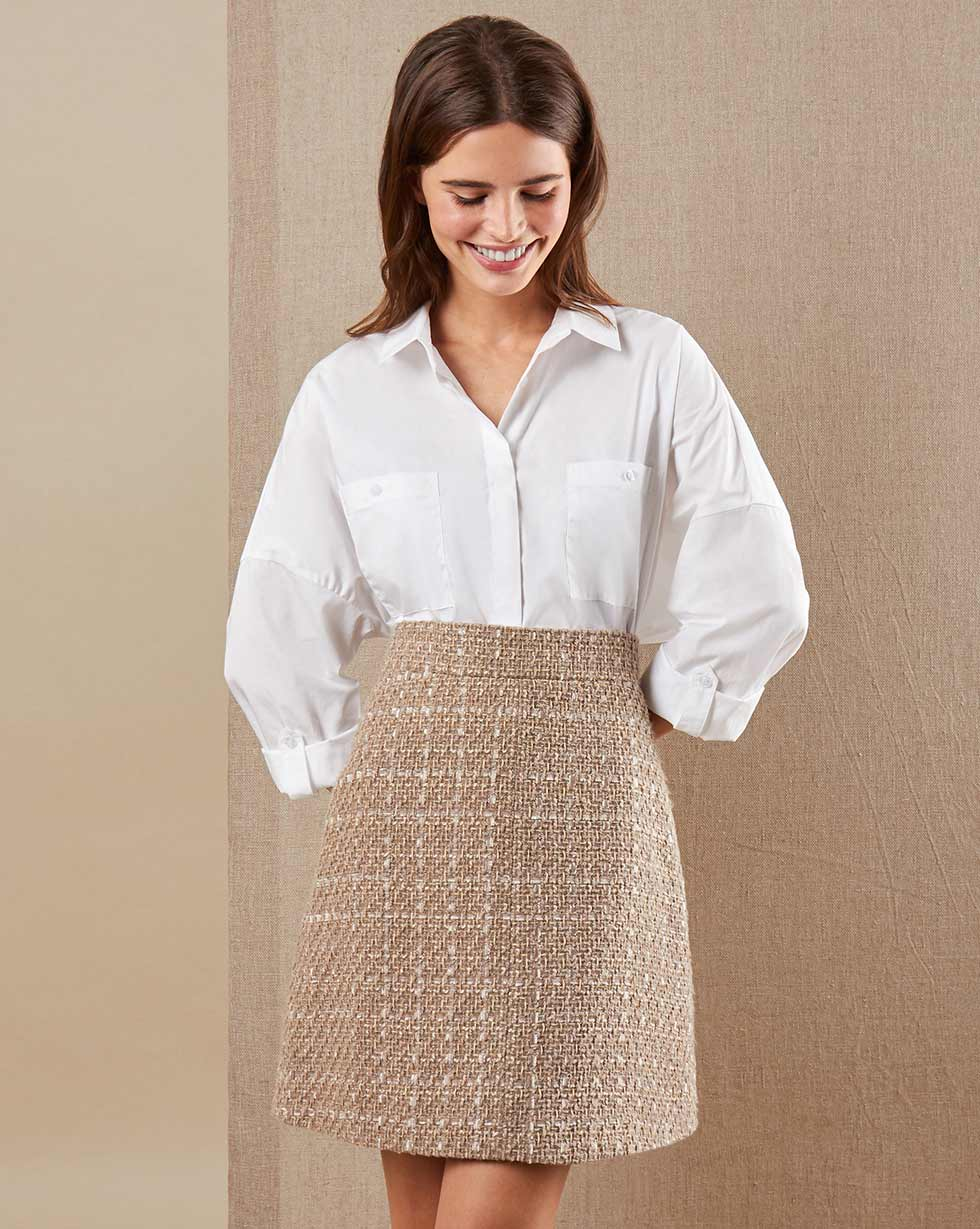 12Storeez Рубашка BL65/024 (Белый)