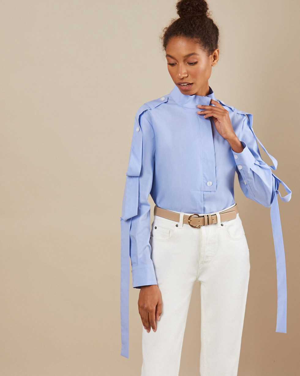 12Storeez Рубашка BL65/025 (Голубой)
