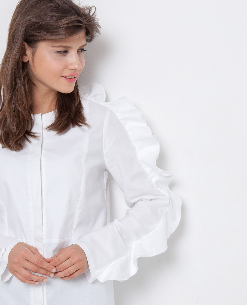 12Storeez Рубашка-динозаврик (белая)