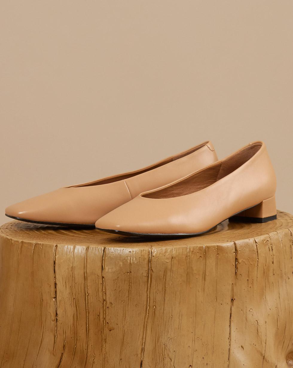 12STOREEZ Туфли с квадратным мысом туфли indiana туфли на среднем каблуке
