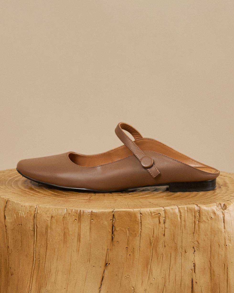 Туфли с открытой пяткой 35 фото