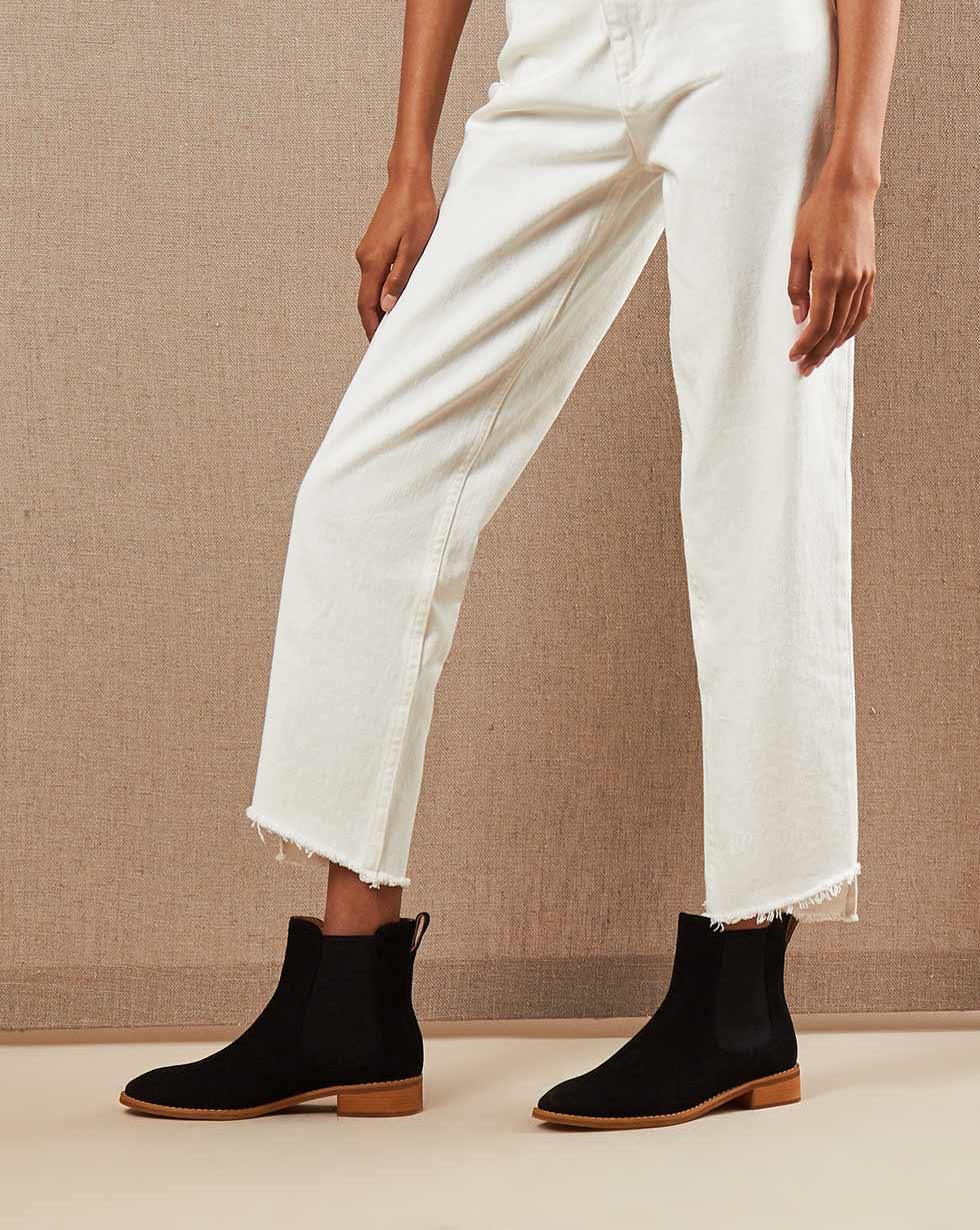 12Storeez Ботинки 100000010 (Черный)