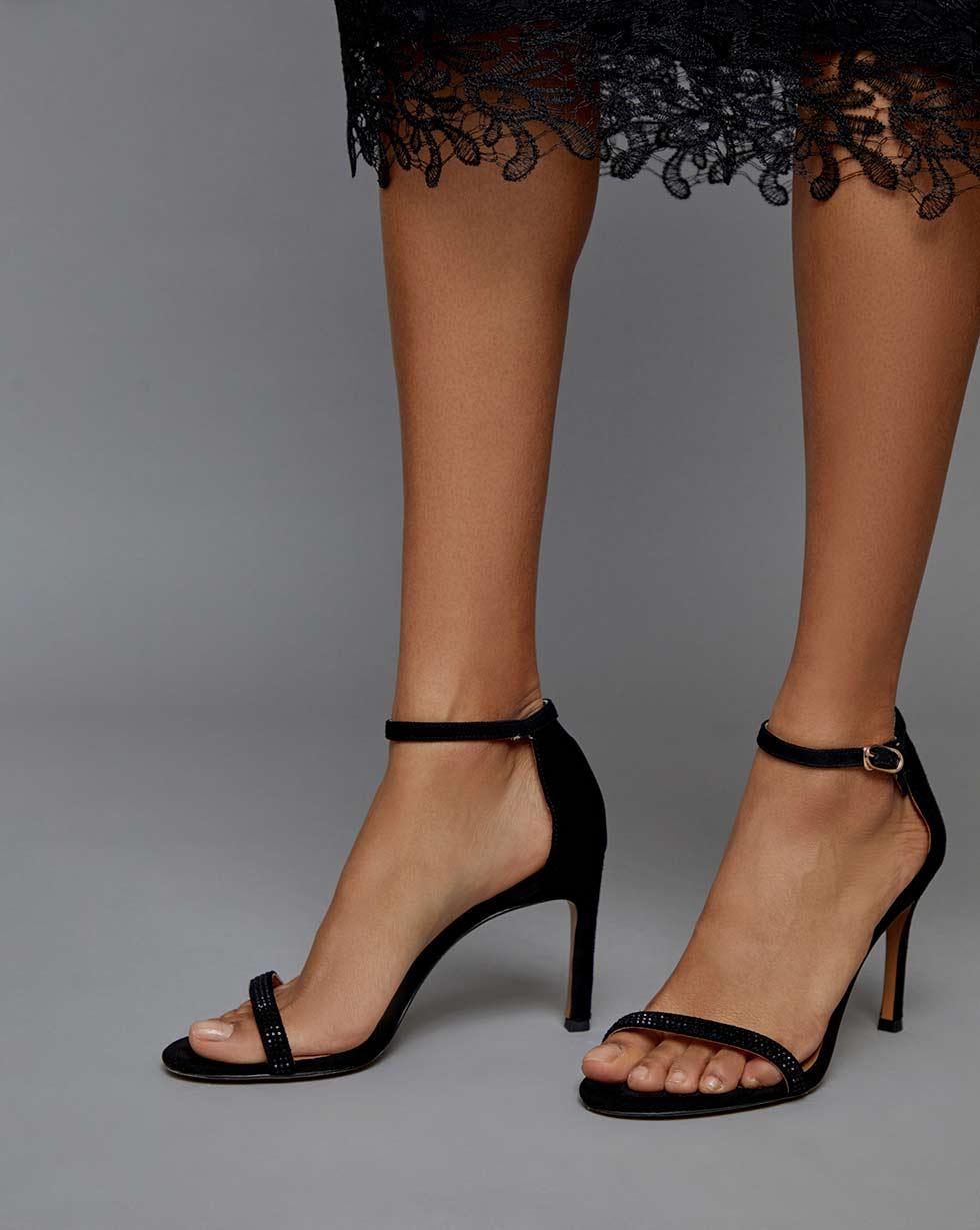 12STOREEZ Босоножки на каблуке босоножки baldinini