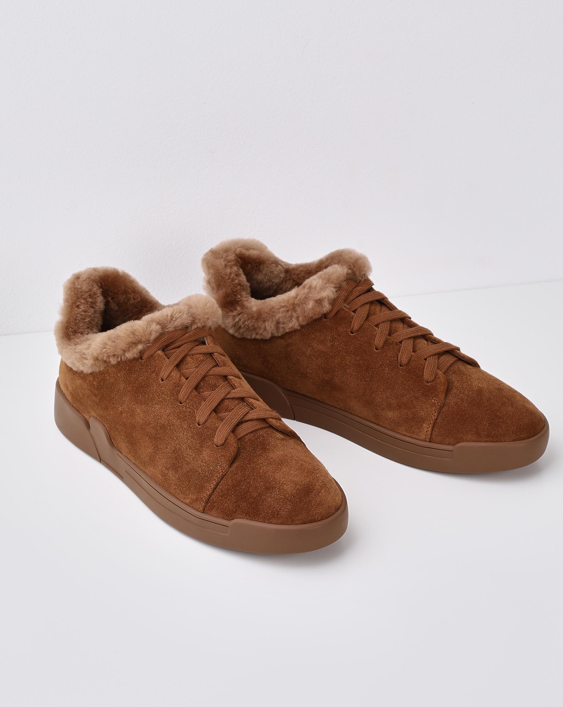 12STOREEZ Зимние кеды на шнурках