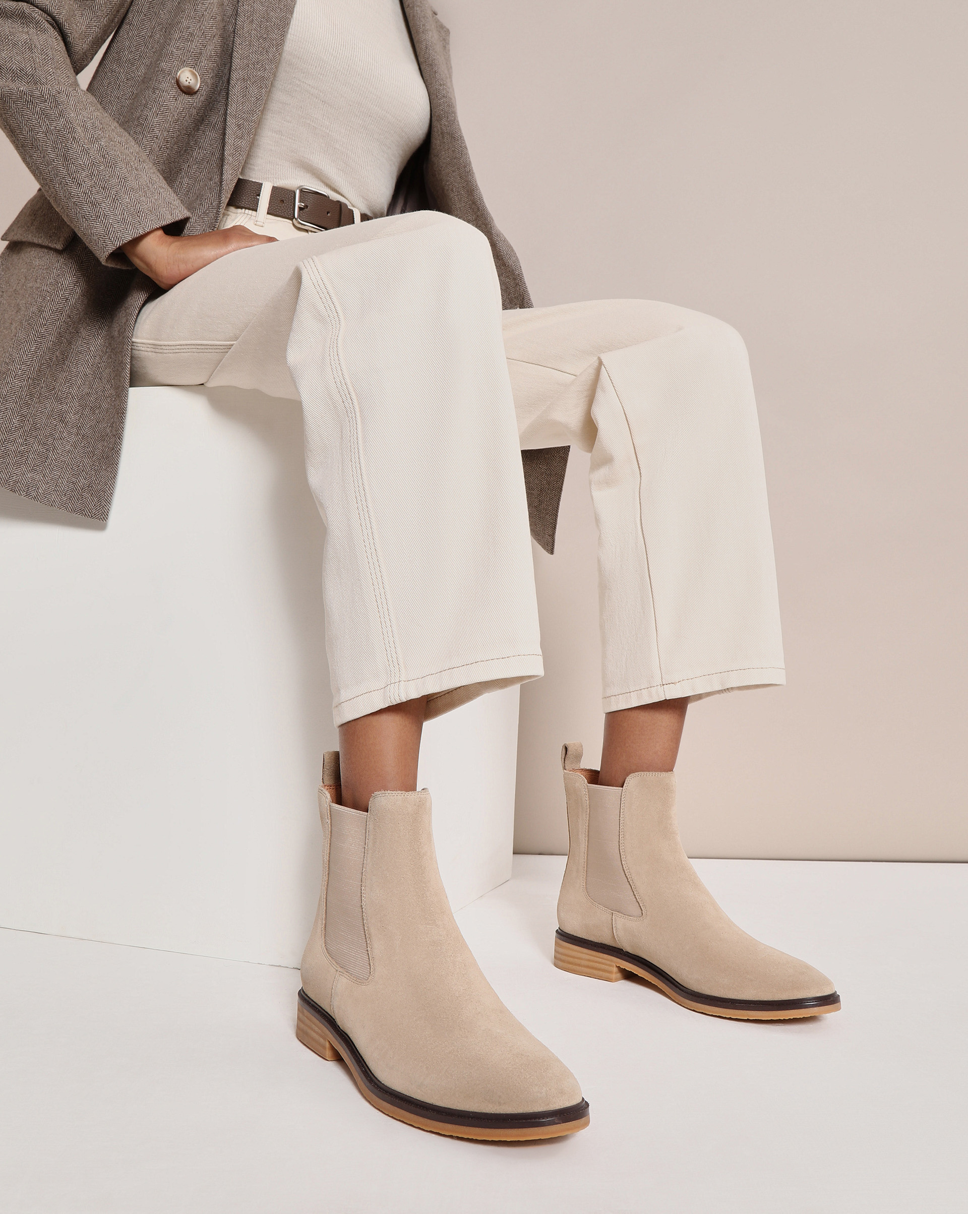 12STOREEZ Ботинки челси на каучуковой подошве ботинки anta anta an225amfpxk0