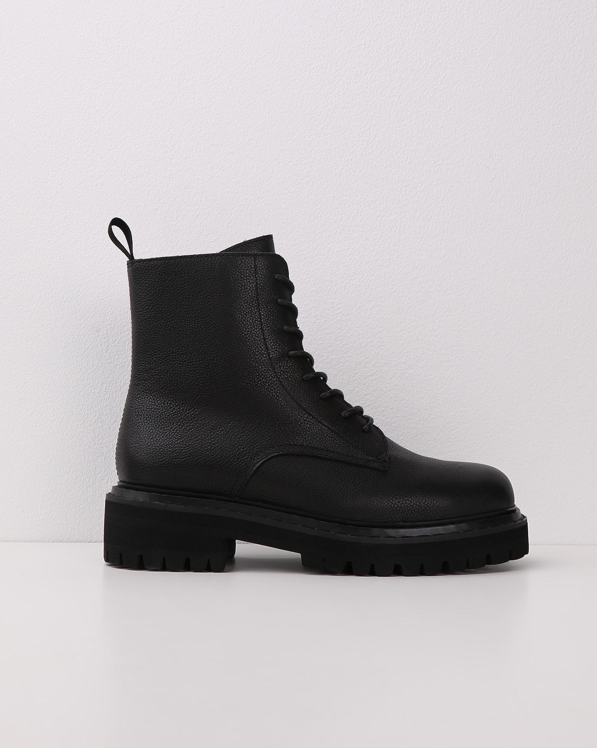 12STOREEZ Брутальные ботинки на шнурках