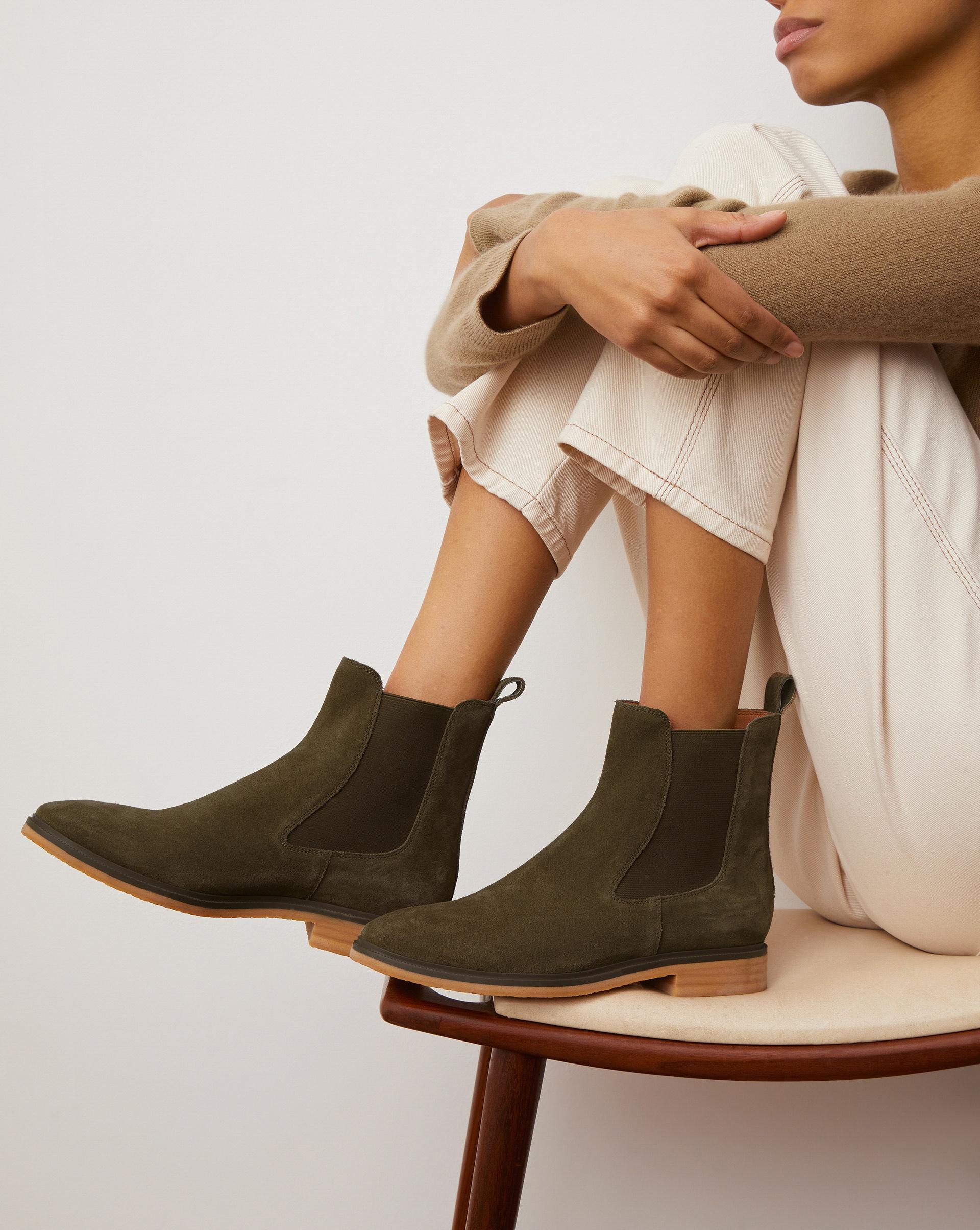 12⠀STOREEZ Ботинки челси на каучуковой подошве фото