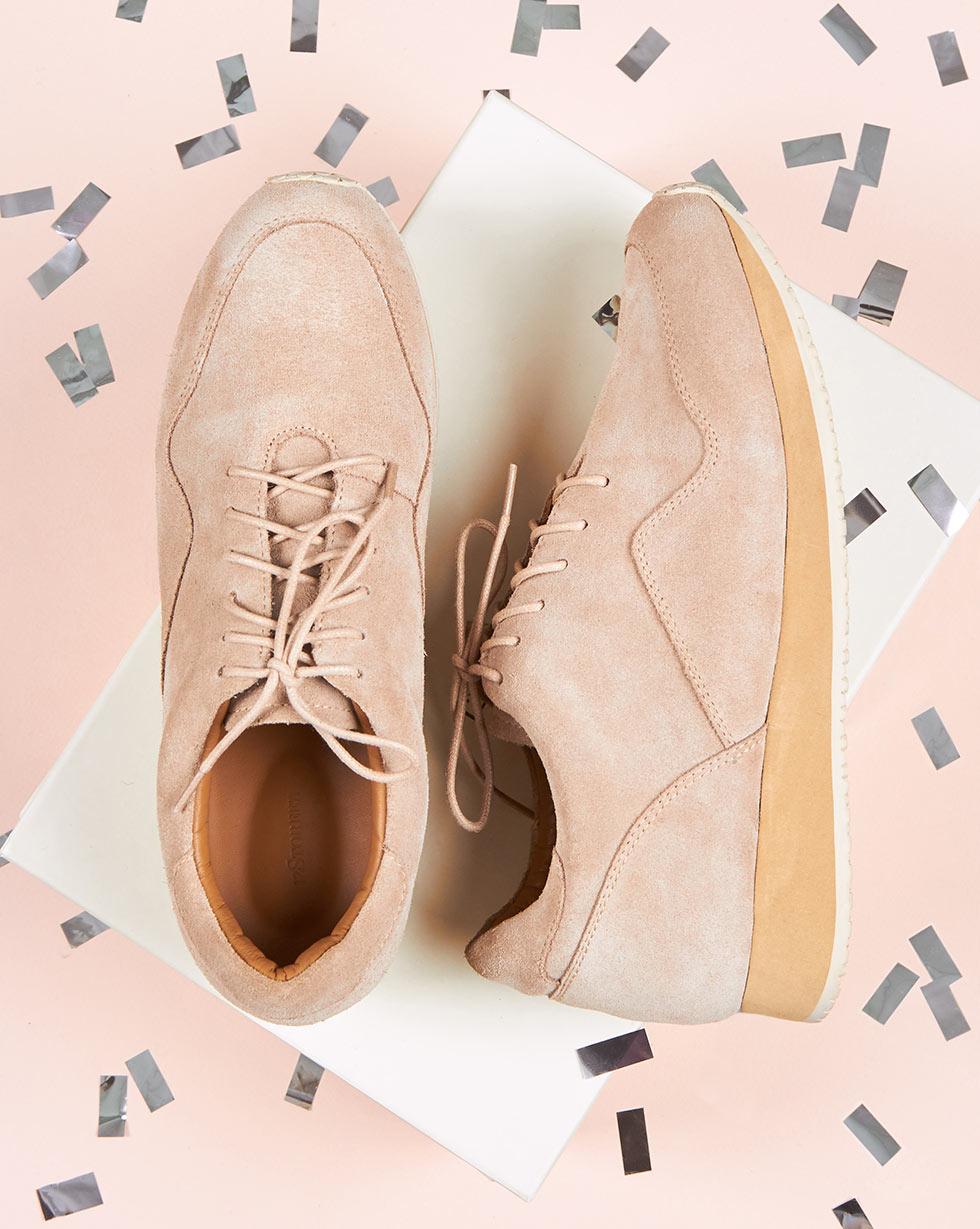 12Storeez Кроссовки из замши (светло-бежевый) 12storeez ботинки из замши с резинкой светло серые