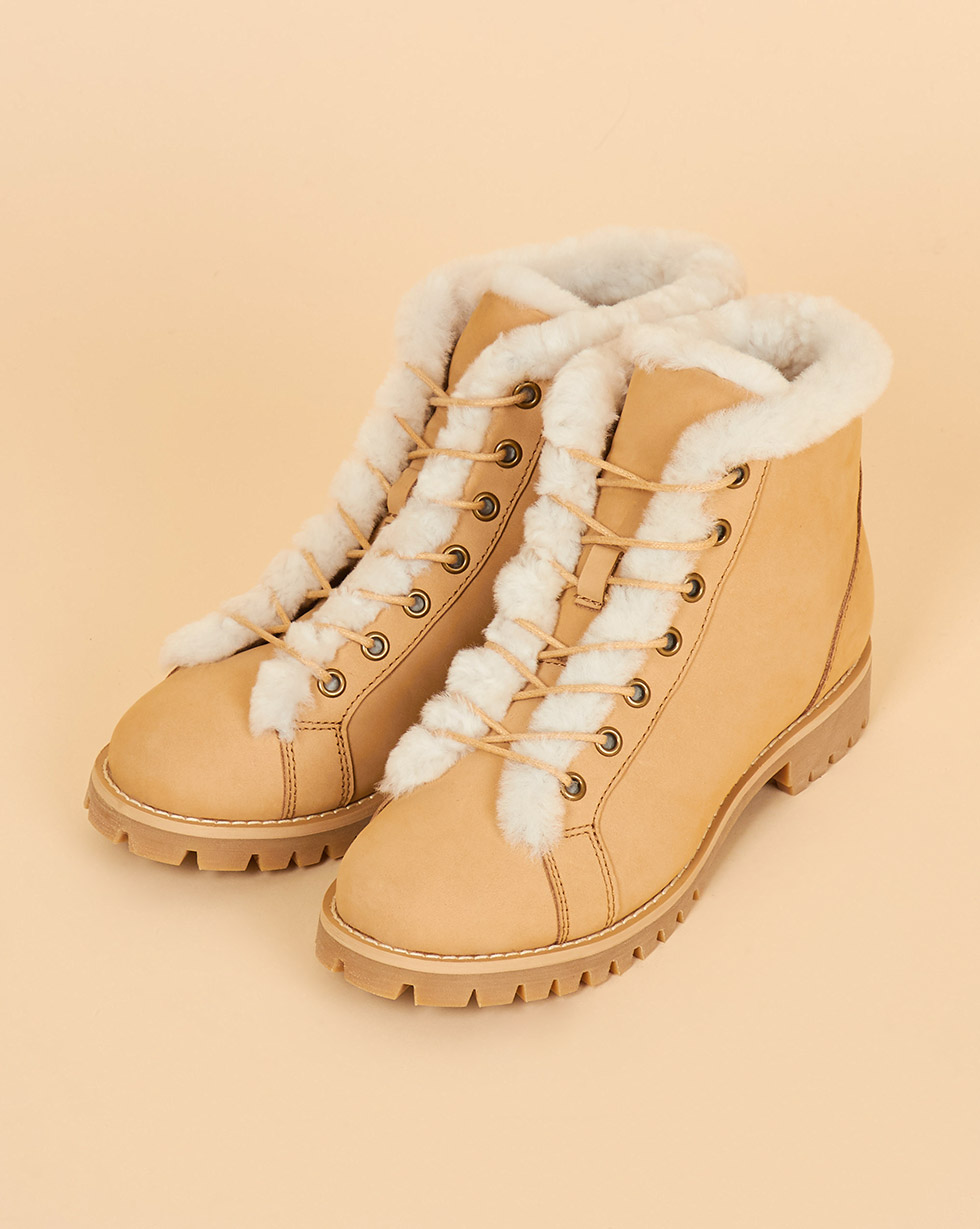 12Storeez Ботинки с мехом (песочные) ботинки dino ricci ботинки на шнурках