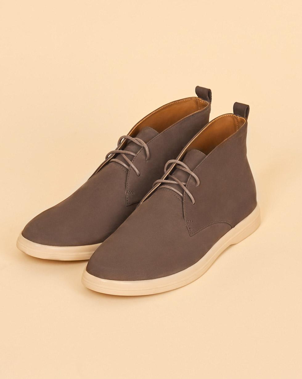 12Storeez Ботинки на шнурках (темно-кофейный)