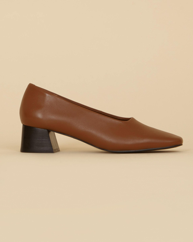 12Storeez Туфли мягкие на каблуке (коричневый) SS19 туфли rossa туфли на каблуке