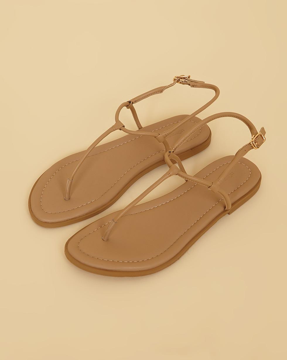 12Storeez Сандалии с перемычкой (светло-бежевый) SS19 12storeez ботинки из замши на шнурках светло бежевый ss19