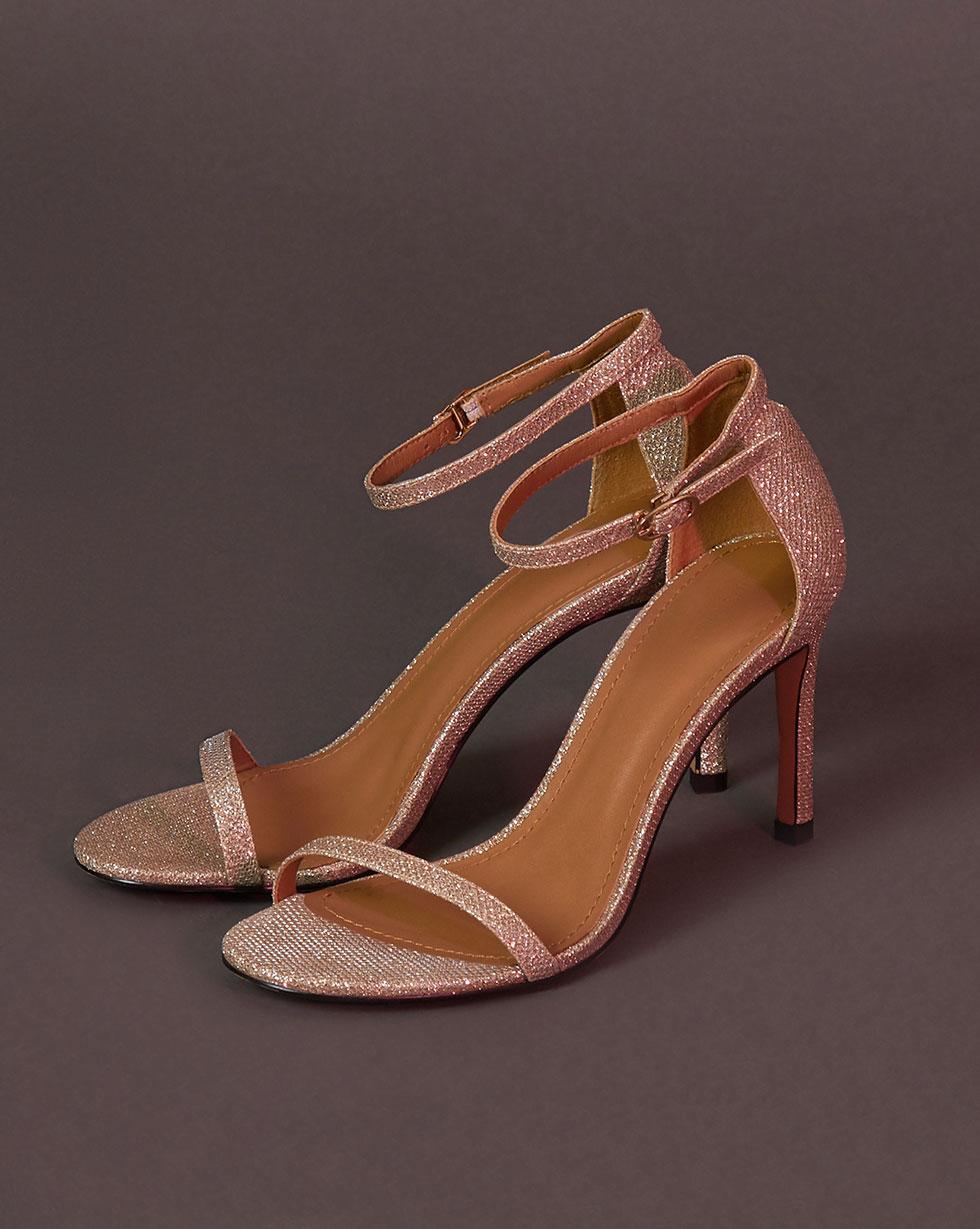 12Storeez Босоножки на каблуке (золотой) цены онлайн