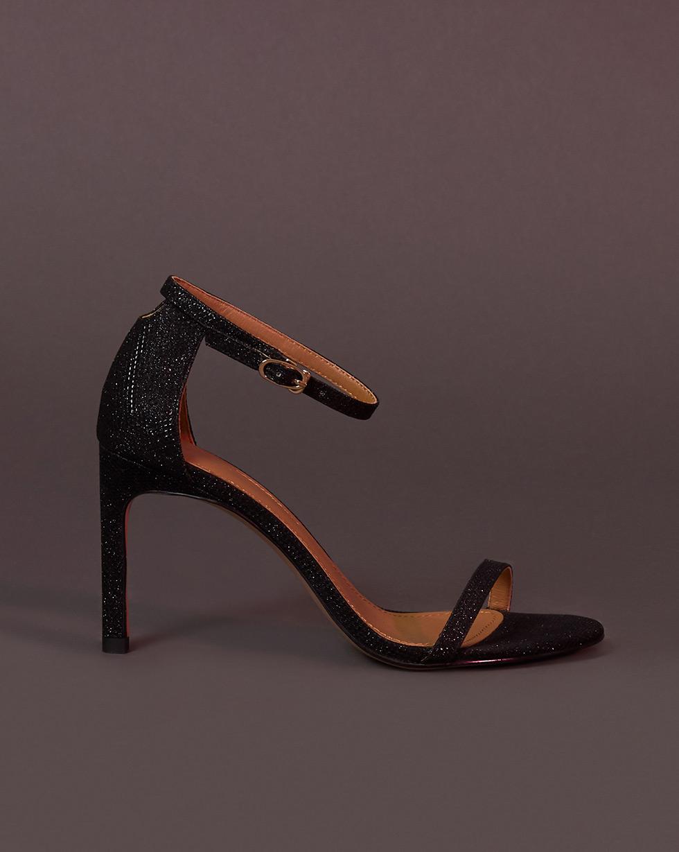 12Storeez Босоножки на каблуке (черный)