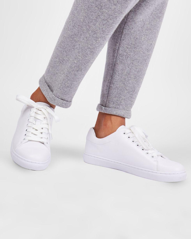 Кеды кожаные 39Обувь<br><br><br>Артикул: 818411419<br>Размер: 39<br>Цвет: Белый<br>Новинка: НЕТ<br>Наименование en: Leather sneakers