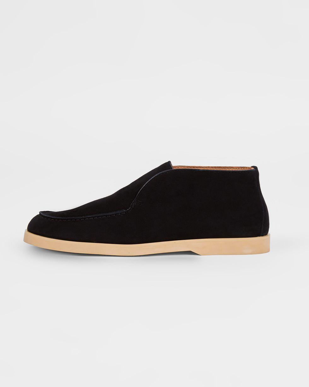 12Storeez Полуботинки из замши (черные) 12storeez туфли лоферы из замши оливковые