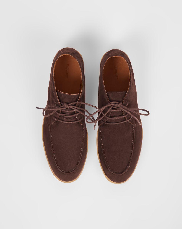 Полуботинки из замши на шнурках 40Обувь<br><br><br>Артикул: 818411593<br>Размер: 40<br>Цвет: Темно-бордовый<br>Новинка: НЕТ<br>Наименование en: Lace-up ankle boots