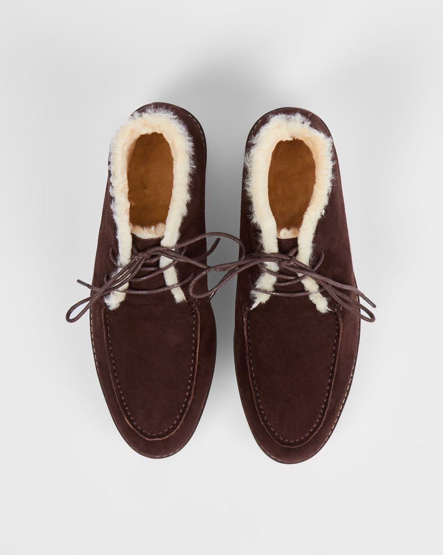 Полуботинки на рифленой подошве с мехом 38Обувь<br><br><br>Артикул: 818412116<br>Размер: 38<br>Цвет: Темно-коричневый<br>Новинка: НЕТ<br>Наименование en: Ripple sole fur lined boots